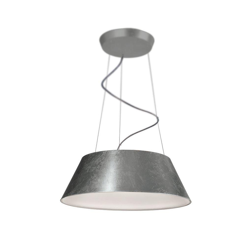 Philips Cielo 24-Light Silver Leaf Hanging Pendant