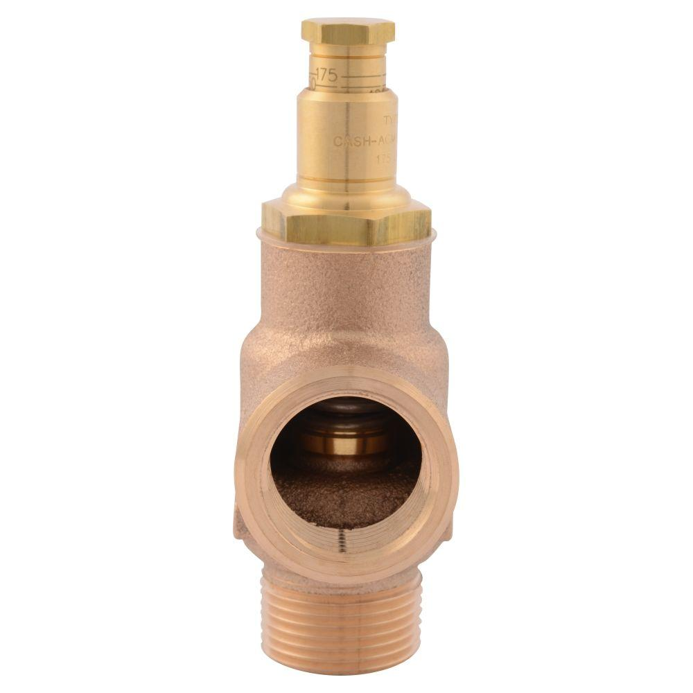 3/4 in. Brass Male Inlet x 3/4 in. Female Outlet FWC