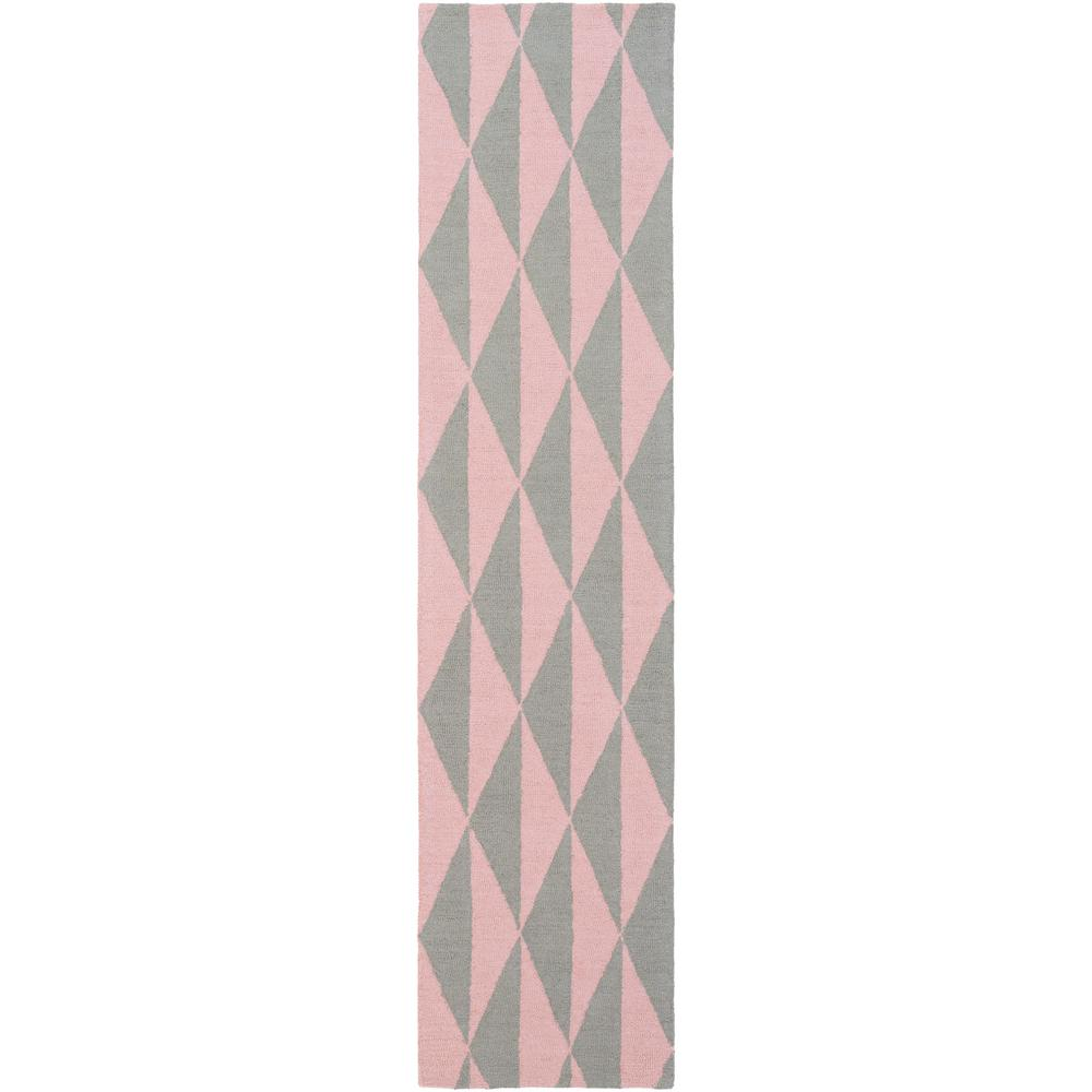 Hilda Sonja Light Pink 2 ft. 3 in. x 10 ft. Indoor Runner