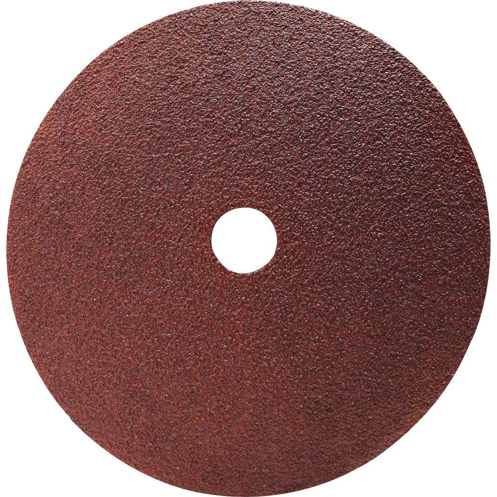7 in. 50-Grit Abrasive Disc (5-Pack)