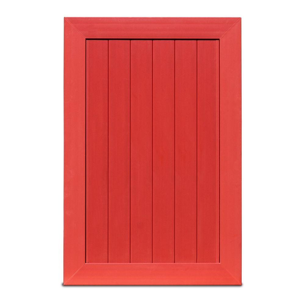Pro Series 4 ft. W x 6 ft. H Barn Red