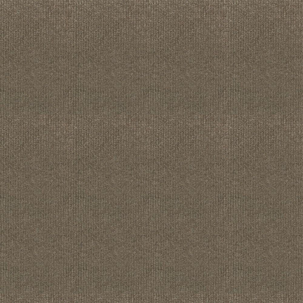 TrafficMASTER Ribbed Bark Texture 18 in. x 18 in. Carpet Tile (16 Tiles/Case)