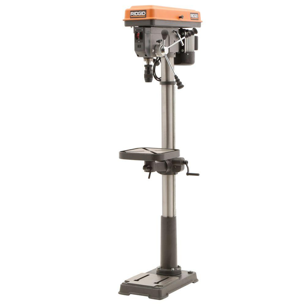 ridgid 15 in. drill press with led-r1500 - the home depot