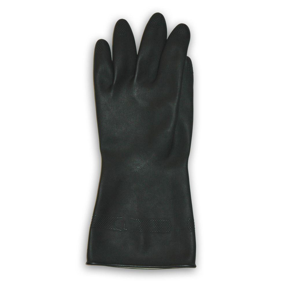 Trimaco Black Flock Lined Neoprene Gloves - XL