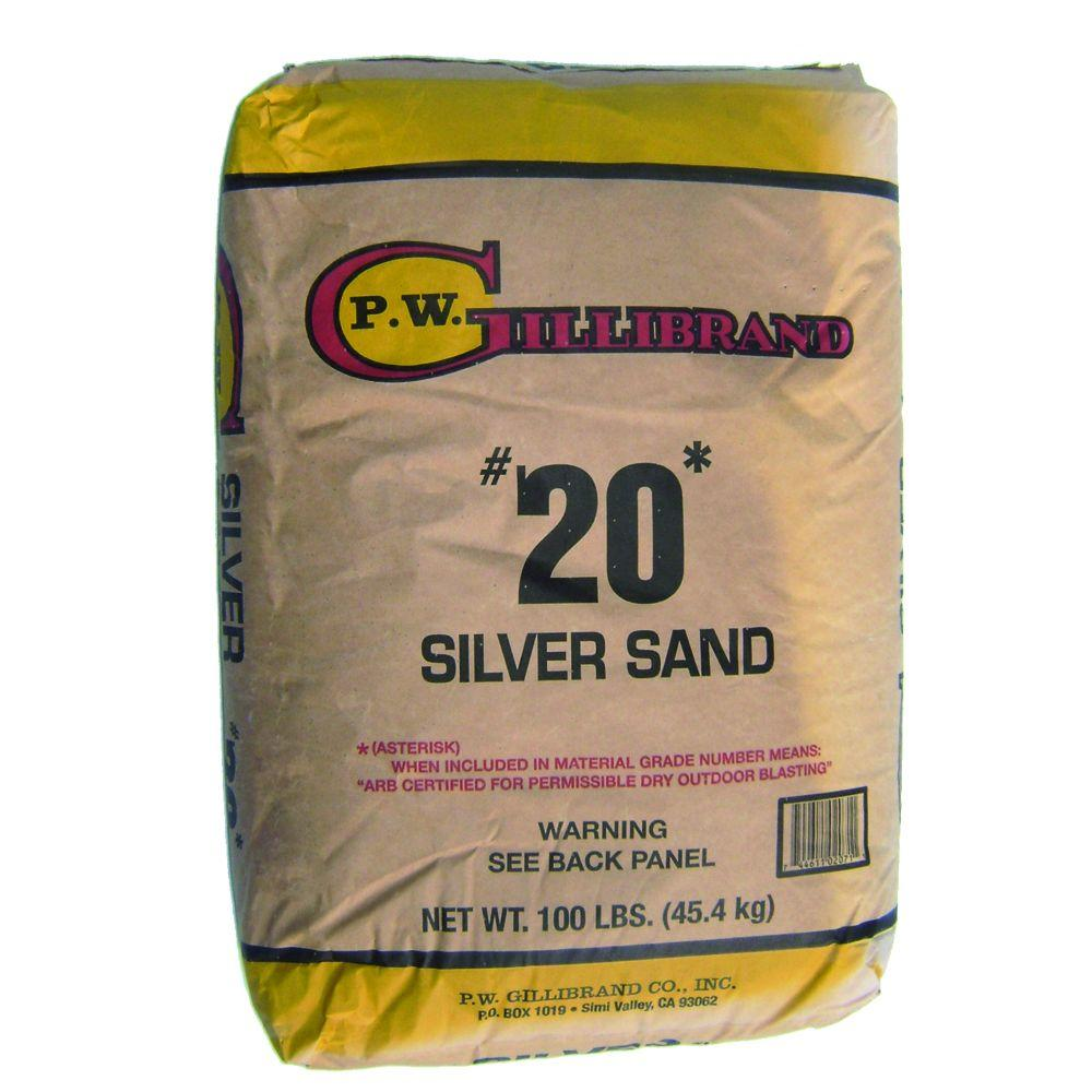 Oldcastle 100 lb. #20 Silica Sand-40105602 - The Home Depot