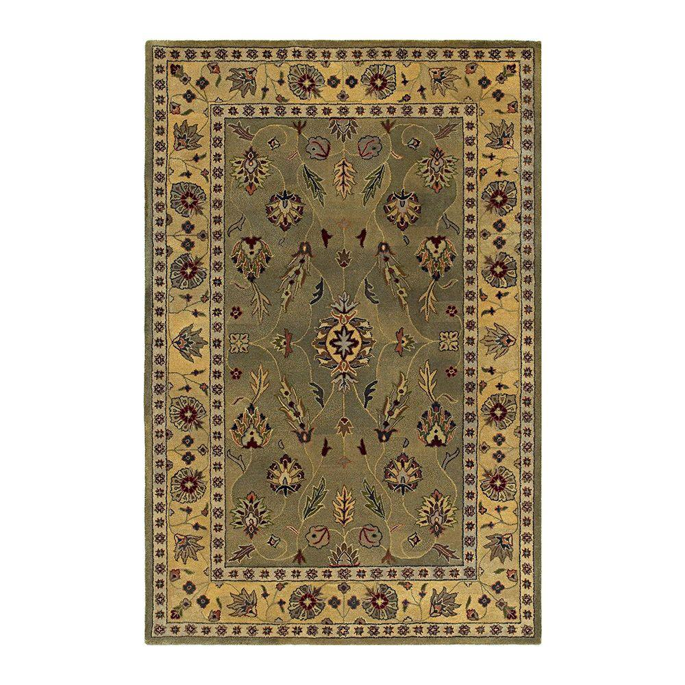 Kaleen Presidential Picks Gilreath Moss 2 ft. 3 in. x 8 ft. Area Rug-DISCONTINUED