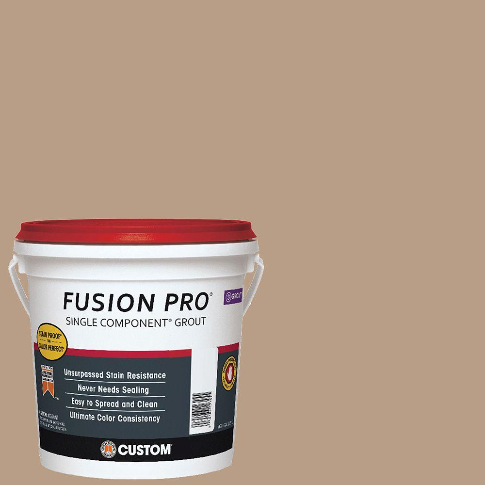 Custom Building Products Fusion Pro #380 Haystack 1 Gal. Single Component Grout