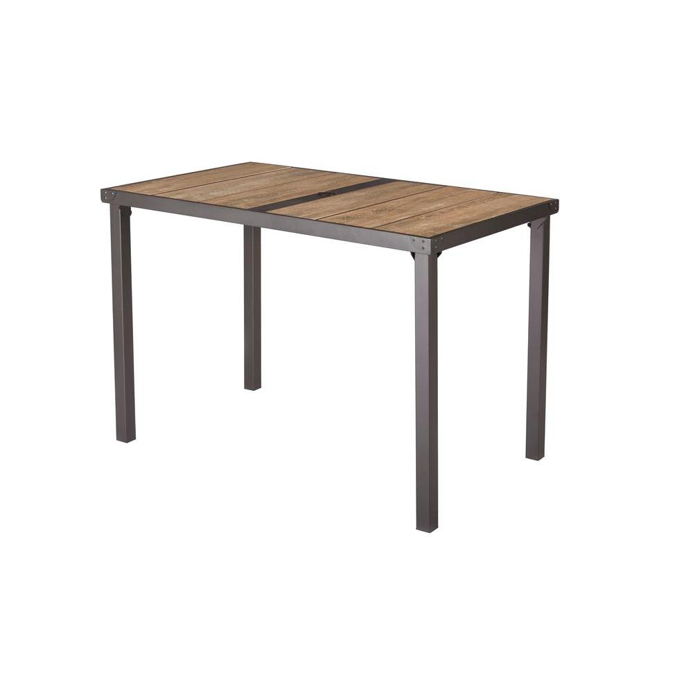 Vernon Hills Rectangular High Patio Dining Table