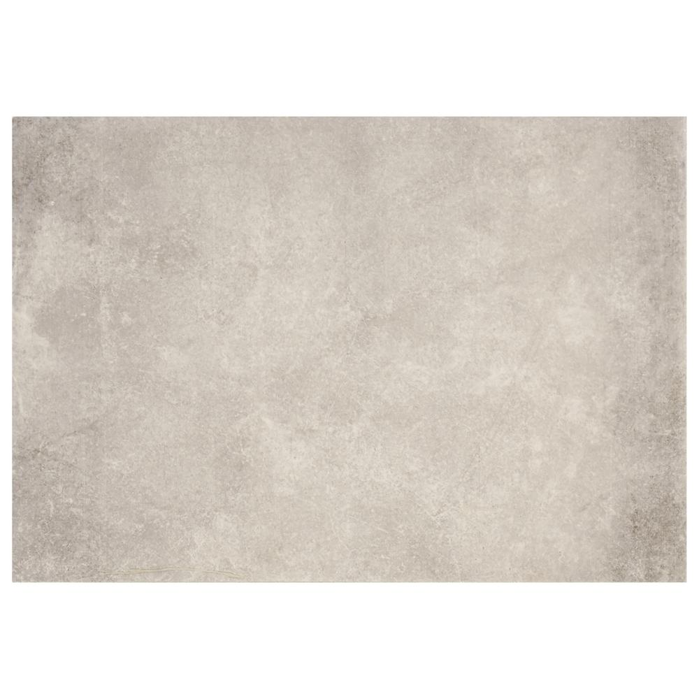 Eclectic Vintage Exposed Concrete 10 in. x 14 in. Ceramic Wall