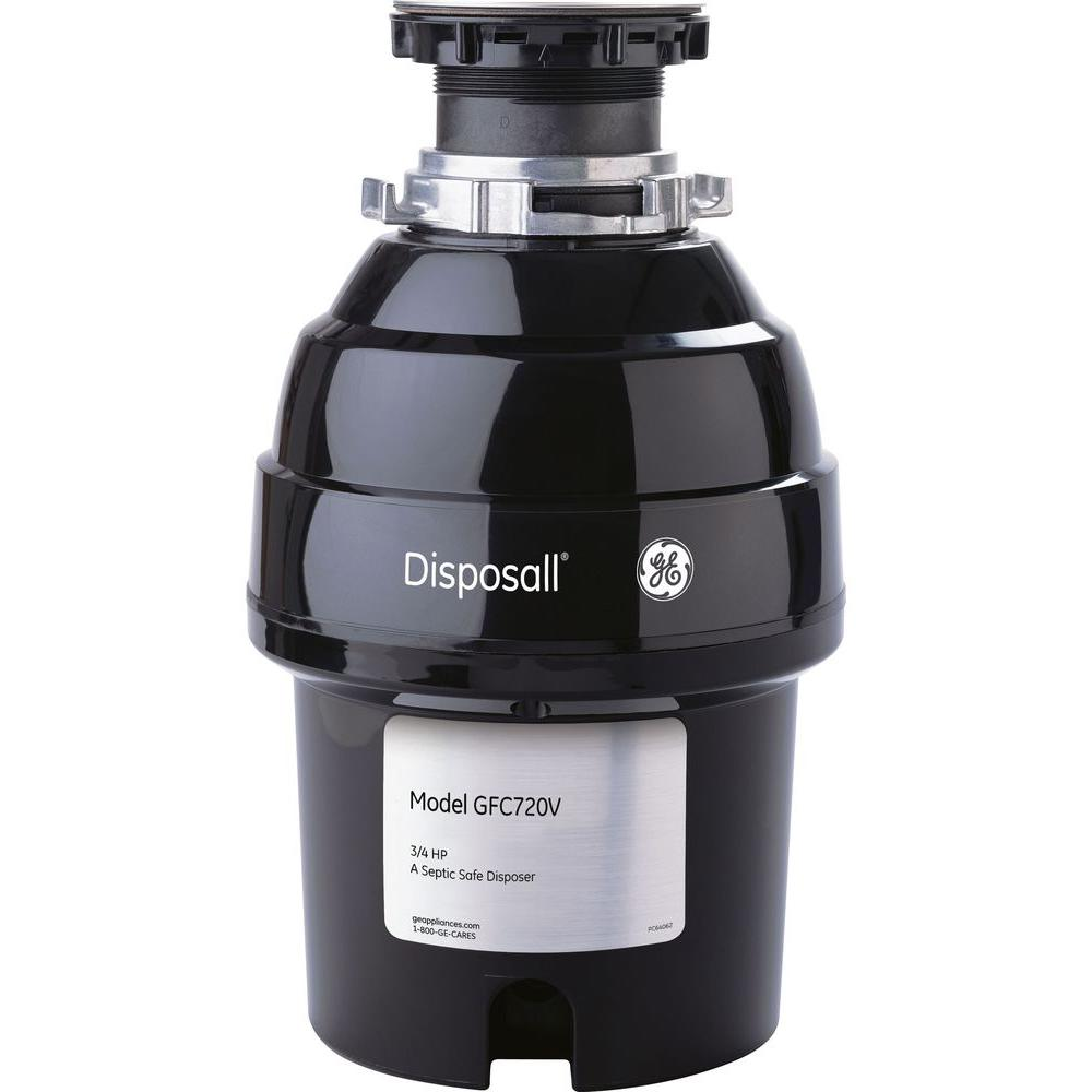 3/4 HP Continuous-Feed Garbage Disposal
