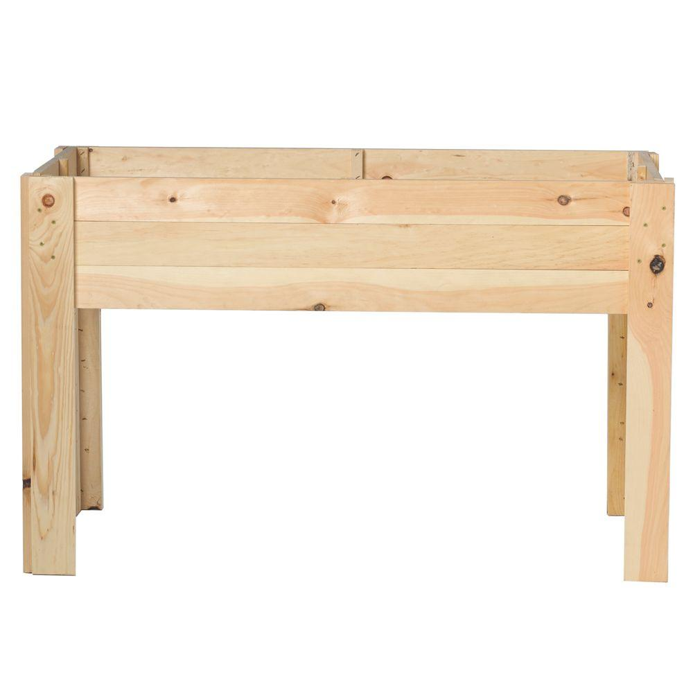 Outdoor Essentials 24 in. x 48 in. Garden Bed Kit-232482 -