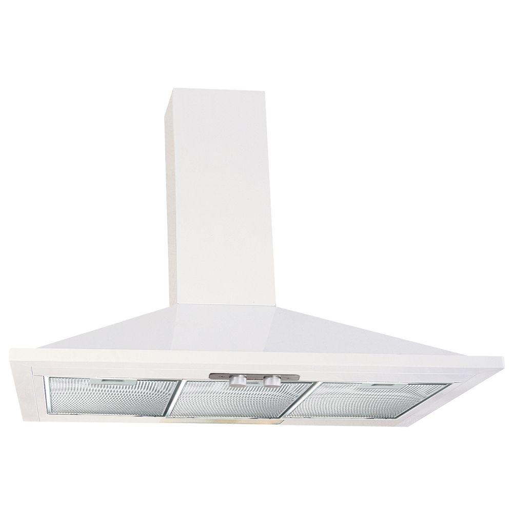 Air King Valencia 36 in. Convertible Range Hood in White