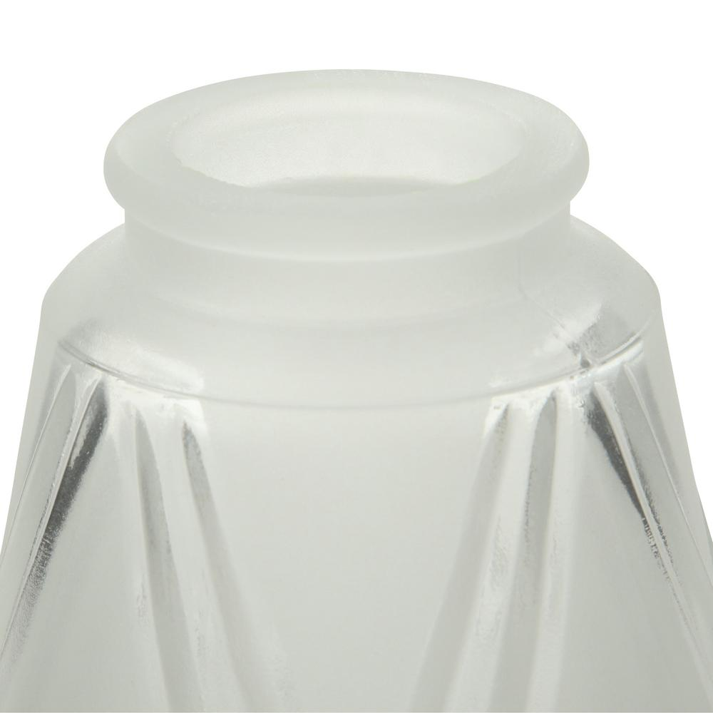 Glass shade designed as a replacement part