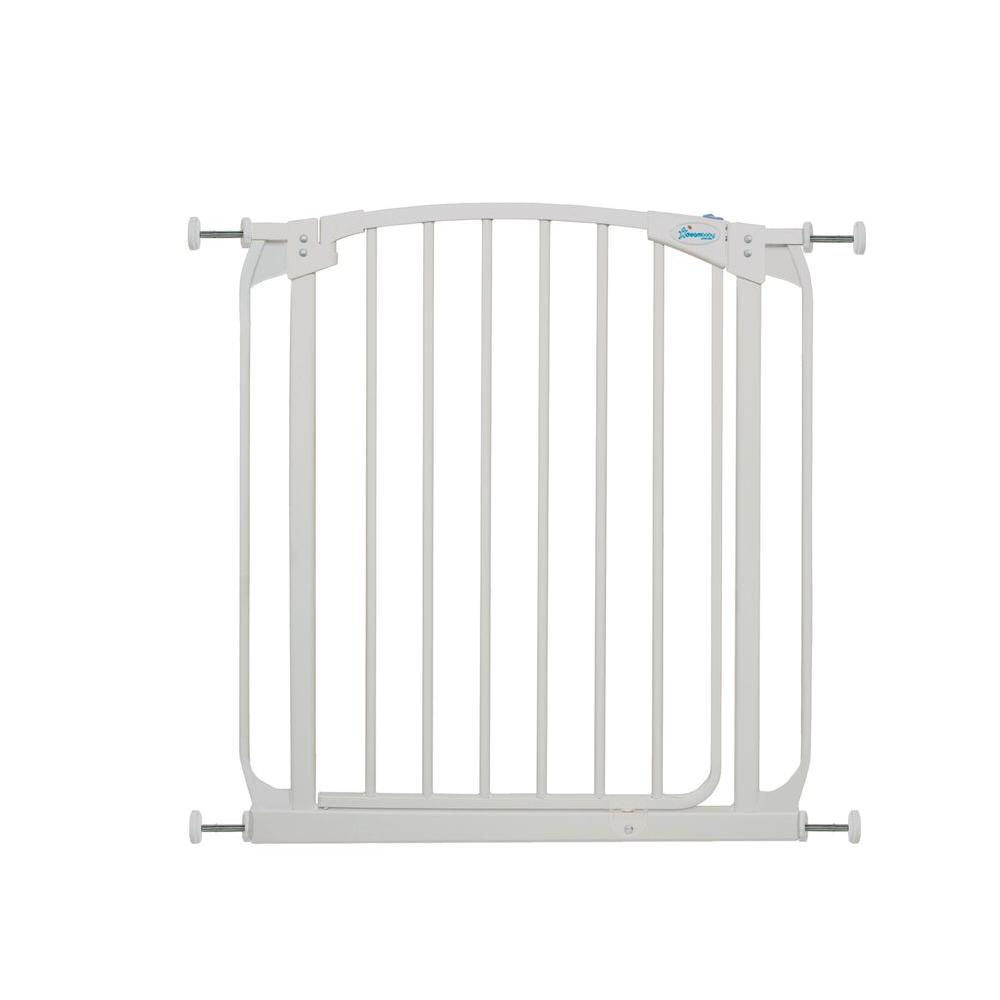 Dreambaby Chelsea 29.5 in. H Auto Close Security Gate in White