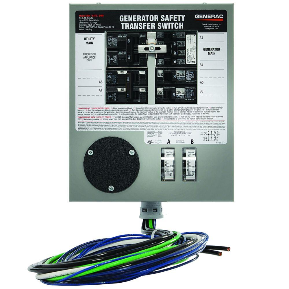 Gen Tran Transfer Switch Diagram Trusted Wiring Diagrams How To Install A Manual Generac