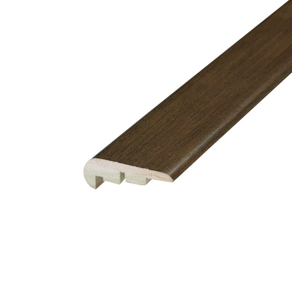 Shaw Multi Color Coordinating 3/4 in. Thick x 2.13 in. Wide x 94 in. Length Laminate Stair Nose Molding