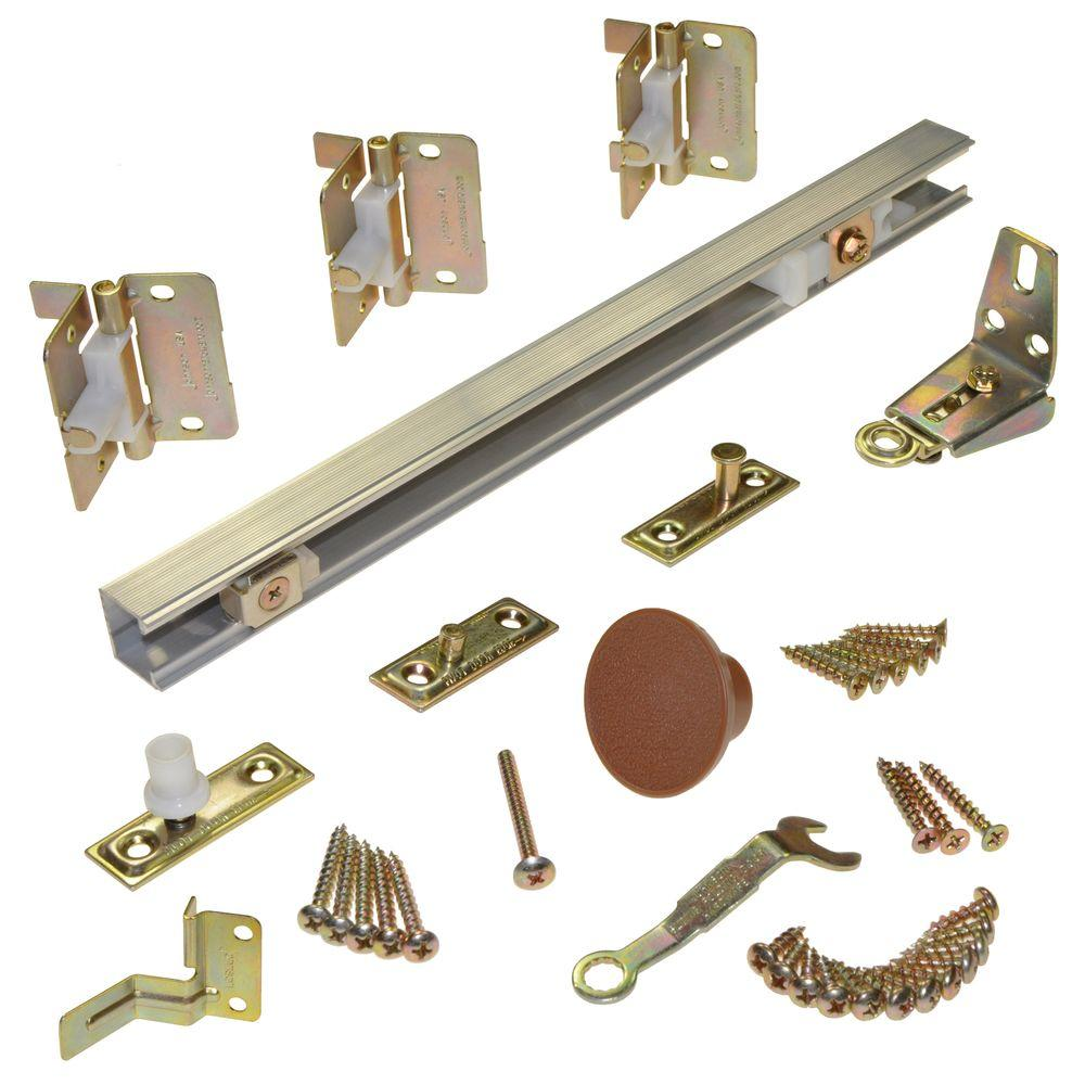 Johnson Hardware 170A Series 36 in. 2-Panel Bi-Fold Door Hardware for 18 in. Panels