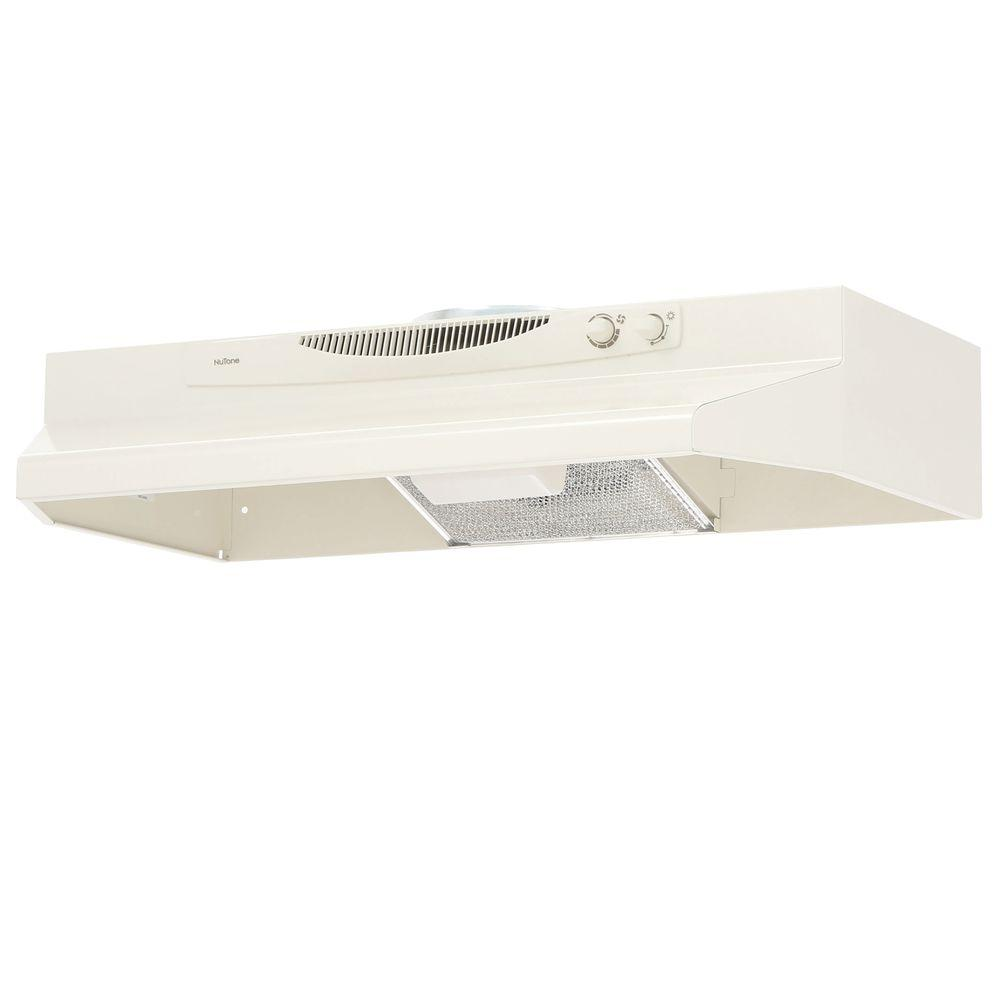 NuTone ACS Series 30 in. Convertible Range Hood in Bisque