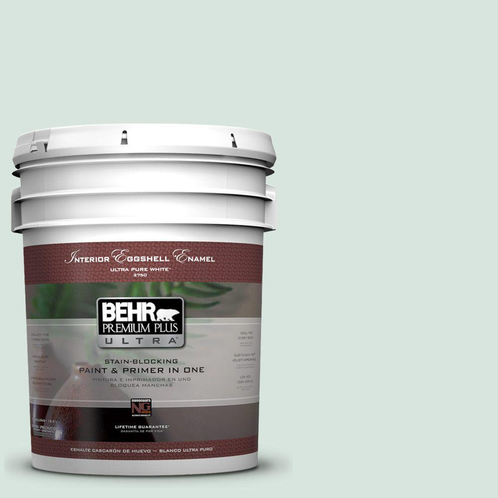 BEHR Premium Plus Ultra 5-gal. #S420-1 New Day Eggshell Enamel Interior Paint