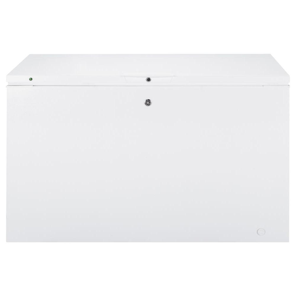56 in. 15.6 cu. ft. Manual Defrost Chest Freezer in White
