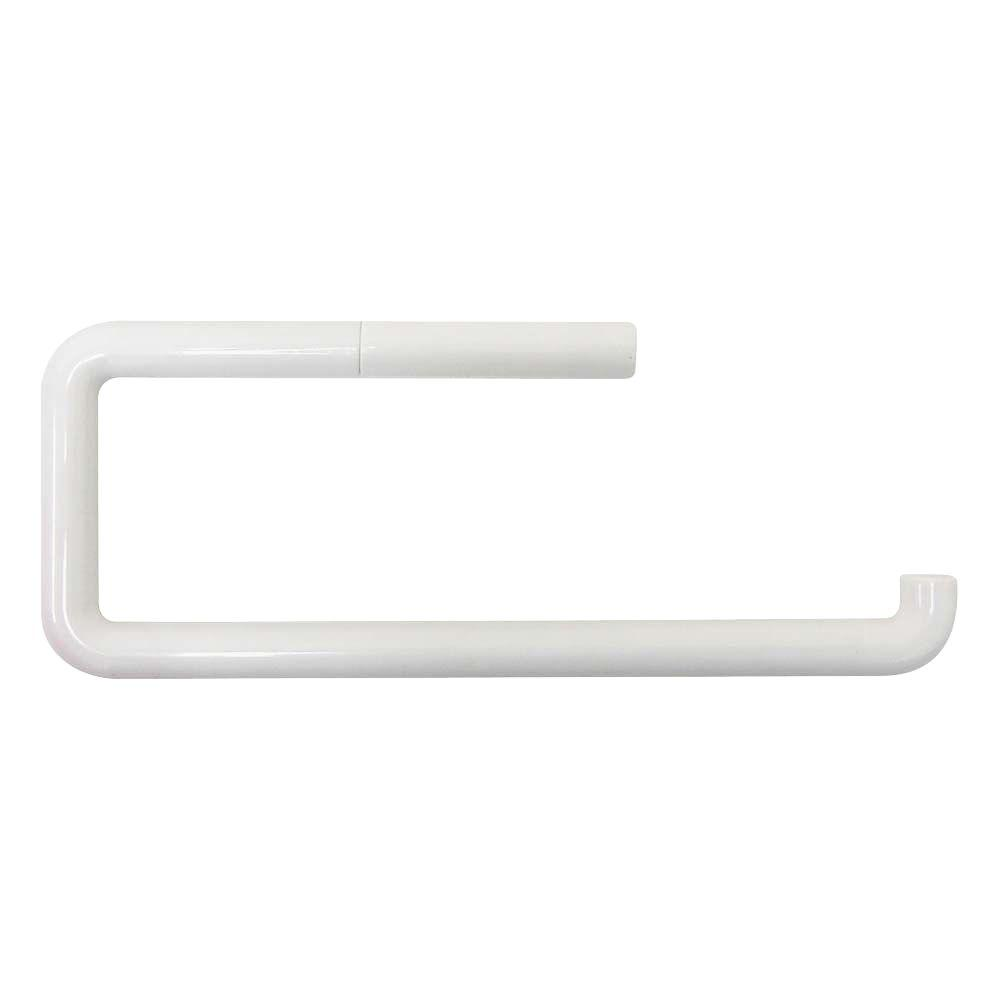 Wall Mounted Paper Towel Holder interdesign plastic wall-mount paper towel holder in white-09334