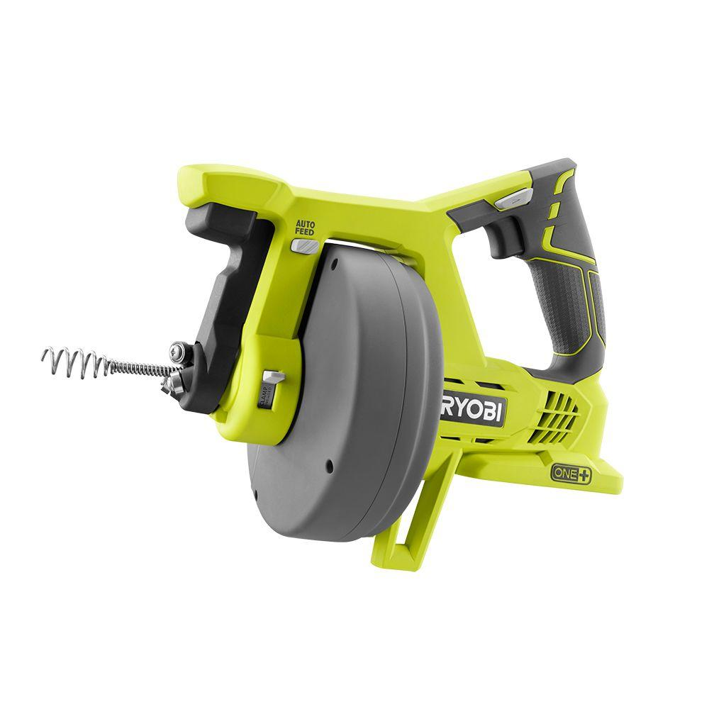 Ryobi 18 Volt One Drain Auger Tool Only P4001 The