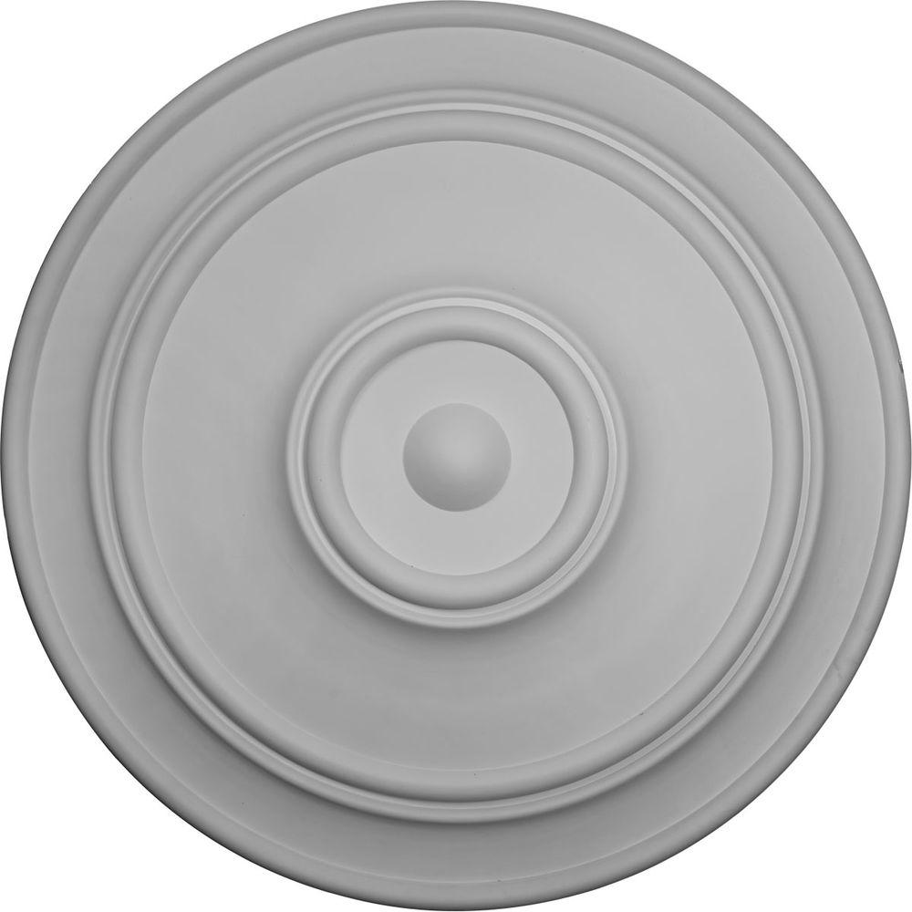Ekena Millwork 54 in. Large Classic Ceiling Medallion-CM54TCL - The Home
