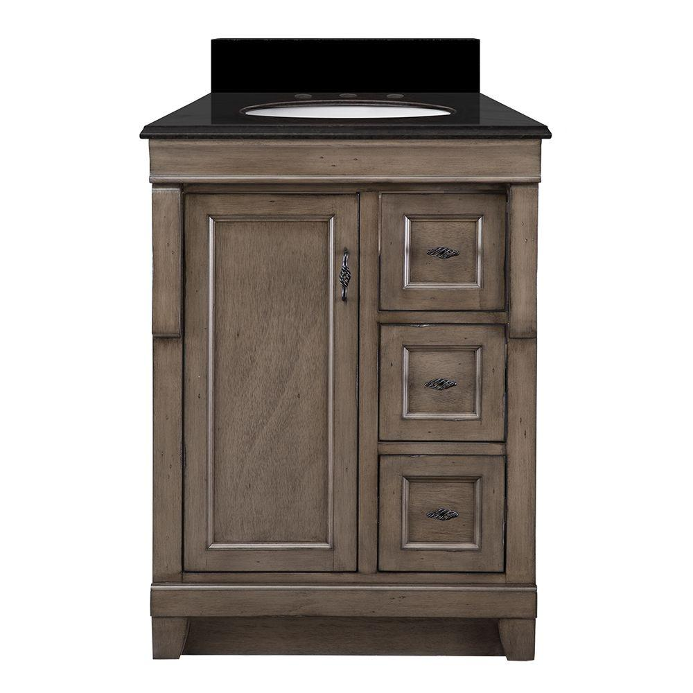 Naples 25 in. W x 22 in. D Vanity in Distressed