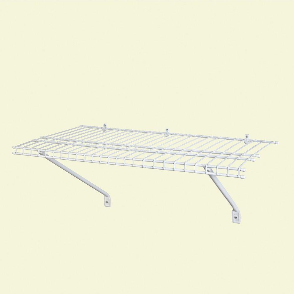 ClosetMaid 3 ft. x 12 in. Ventilated Wire Shelf Kit