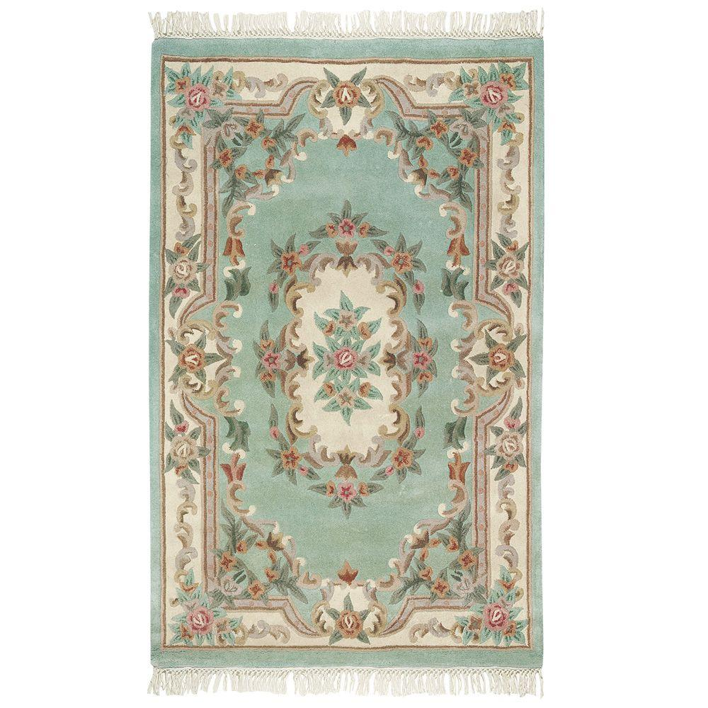 Home Decorators Collection Imperial Light Green 5 ft. x 8 ft. Area Rug