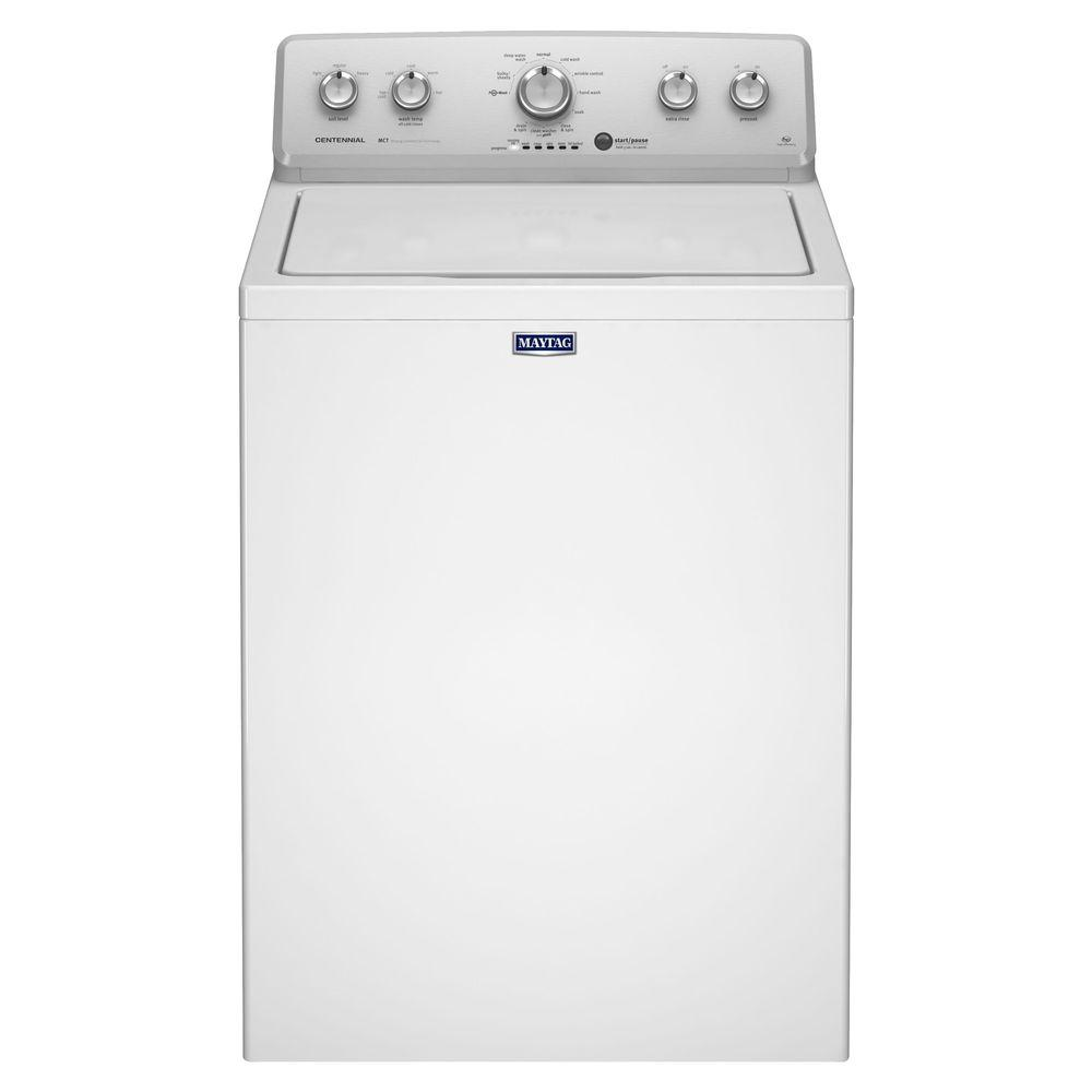 Maytag 3.6 cu. ft. High-Efficiency Top Load Washer in White-MVWC415EW -