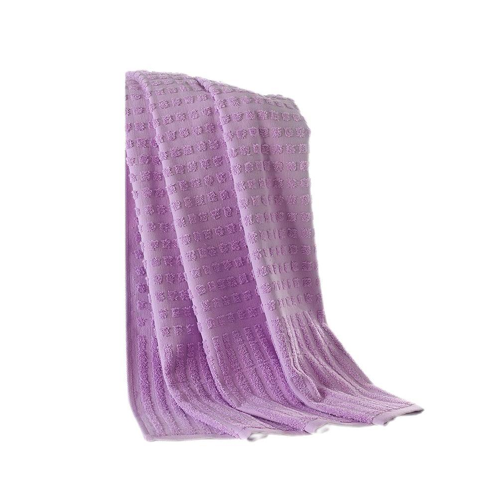 Piano Collection 39 in. W x 59 in. H 0 Turkish Cotton Luxury Bath Sheet in Lavender (Purple)