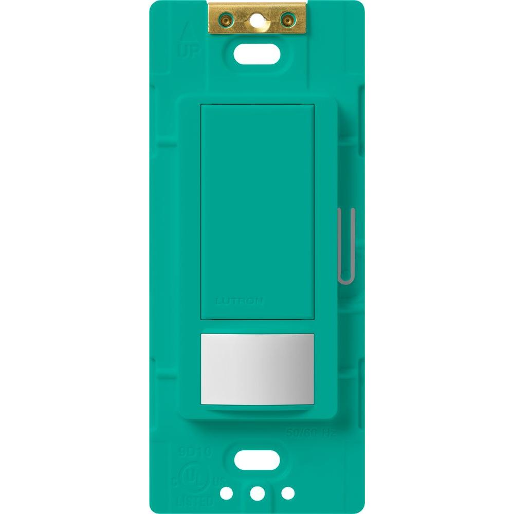Maestro 5-Amp Single Pole/3-Way Occupancy Sensing Switch - Turquoise