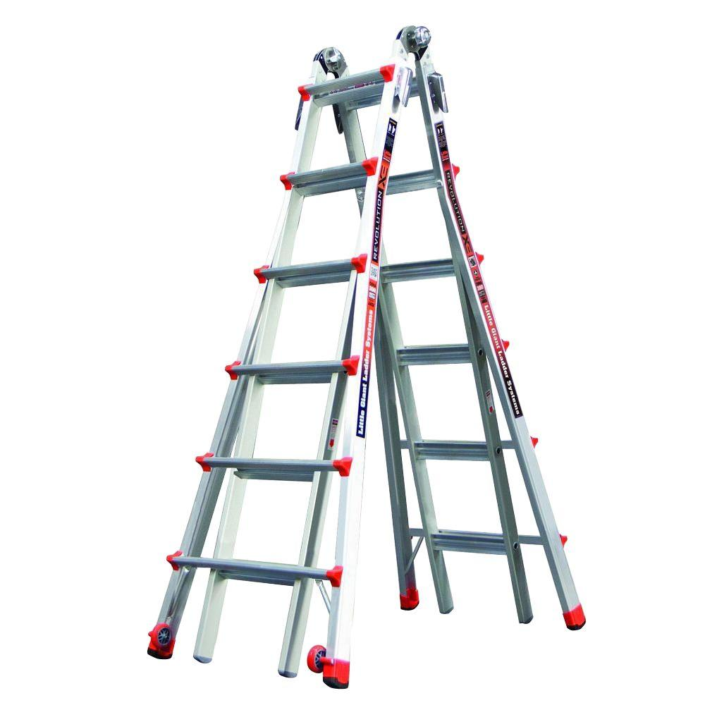 Revolution 26 ft. Aluminum Multi-Position Ladder with 300 lb. Load Capacity