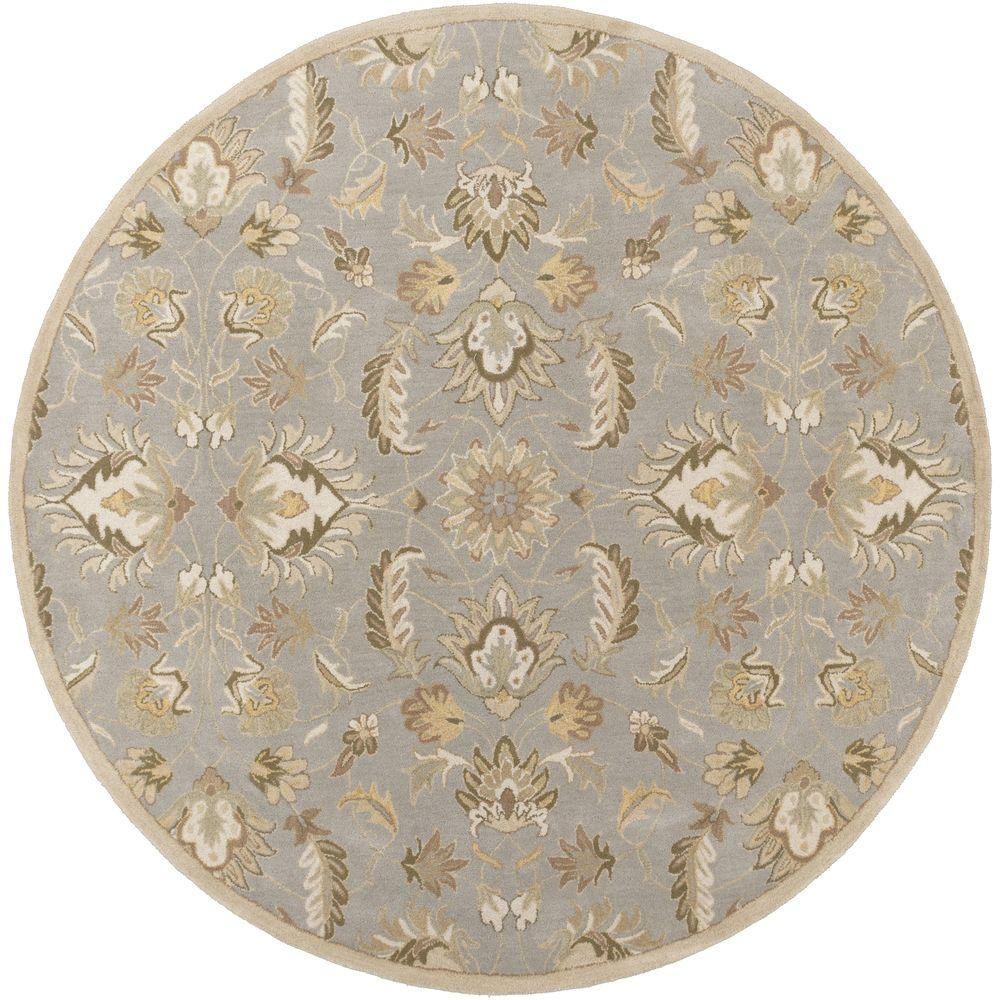 Cyrus Moss 4 ft. x 4 ft. Round Indoor Area Rug
