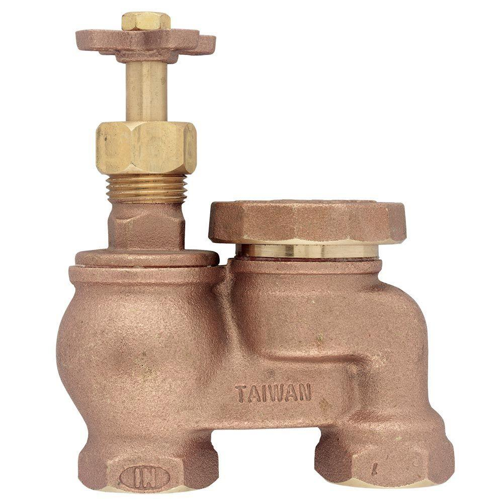null 3/4 in. Brass Anti-Siphon Control Valve