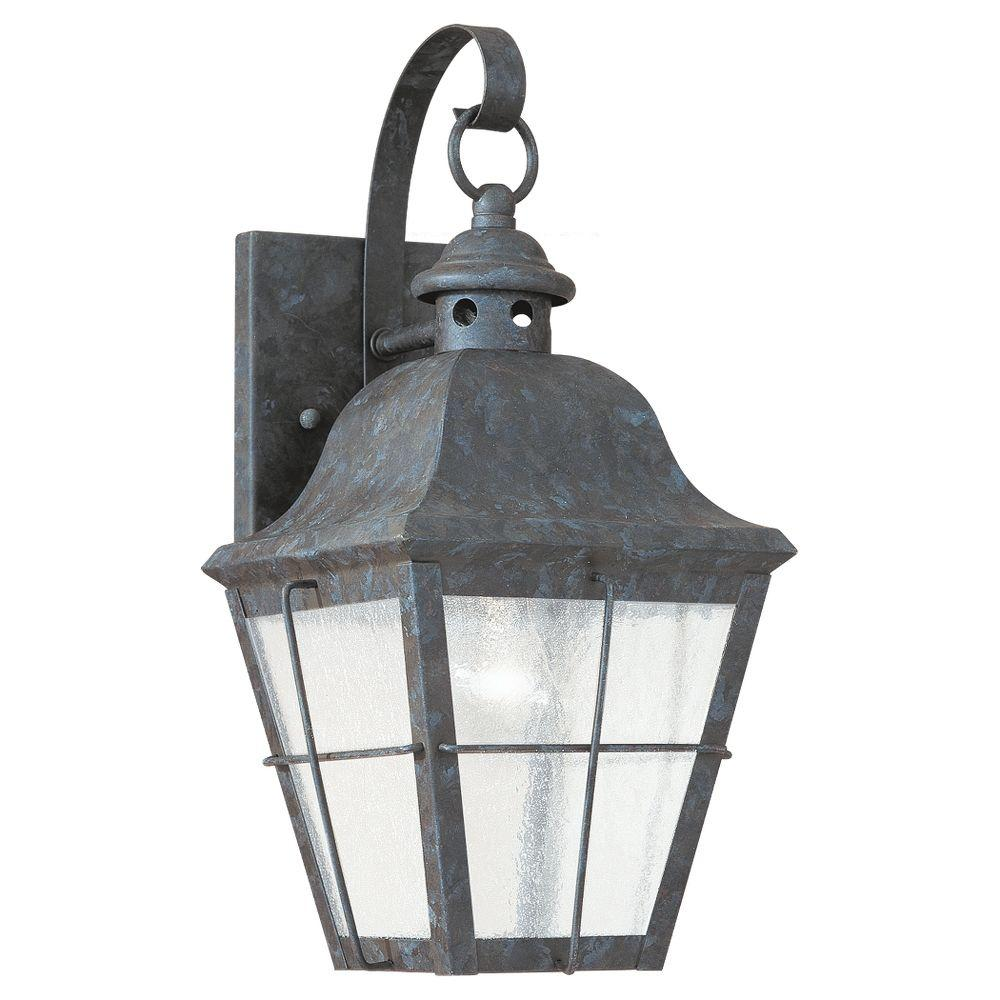 Chatham 1-Light Outdoor Oxidized Bronze Wall Mount Fixture