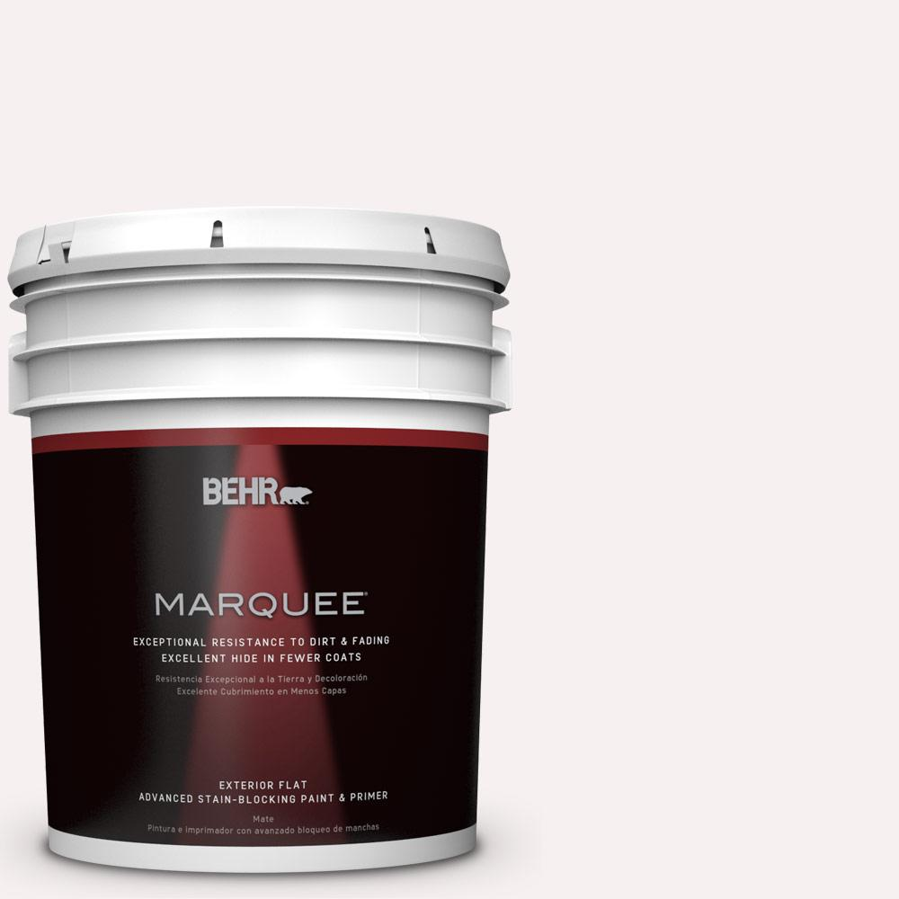 BEHR MARQUEE 5-gal. #W-B-610 Soft Breeze Flat Exterior Paint-445005 - The