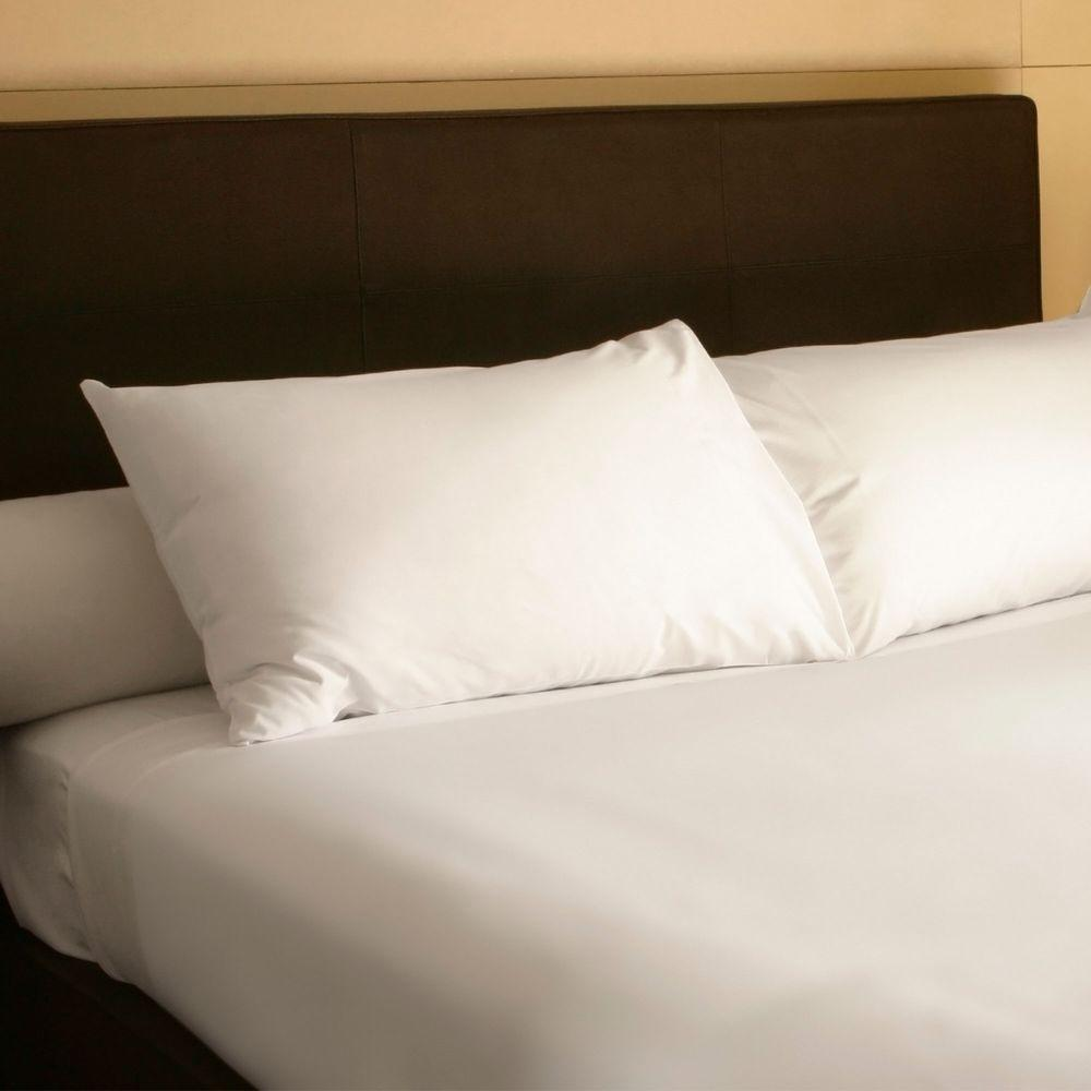 Lavish Home White 300 Count Egyptian Cotton Queen Sheet Set (4-Piece)-66-001-Q-I
