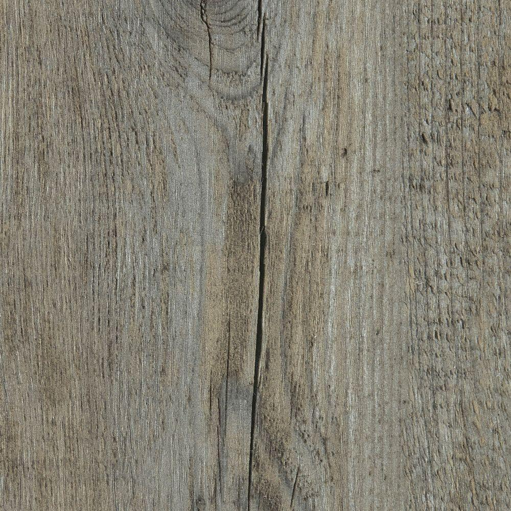 Pine Winterwood 4 mm Thick x 7 in. Wide x 48 in. Length Click Lock Luxury Vinyl Plank (23.36 sq. ft. / case), Light Gray/Embossed
