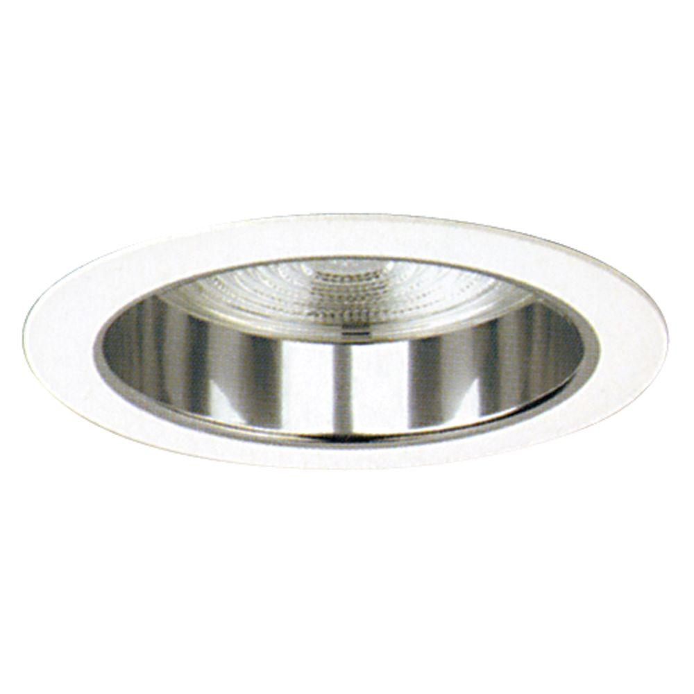 Yosemite Home Decor Recessed Lighting 7.12-in. Reflector Trim with Fresnel Lens for Recessed Lights, Clear-DISCONTINUED