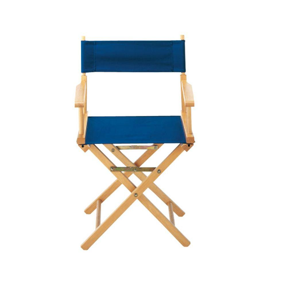 Back of directors chairs - Navy Director S Chair Cover