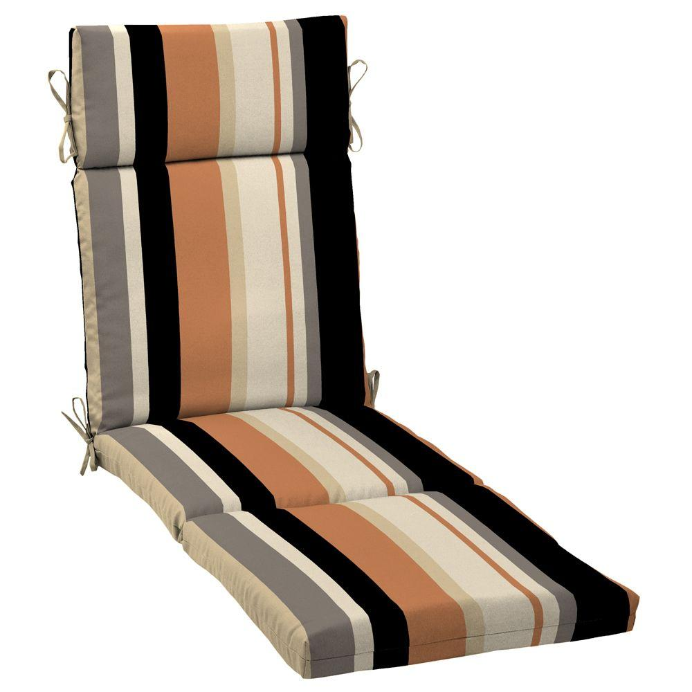 Arden Holden Stripe Pawn Outdoor Chaise Cushion-DISCONTINUED