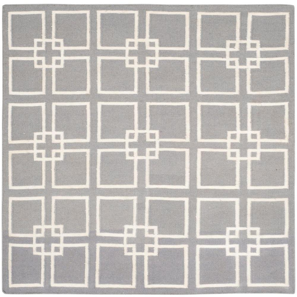 Cement Gray 7 ft. x 7 ft. Square Area Rug