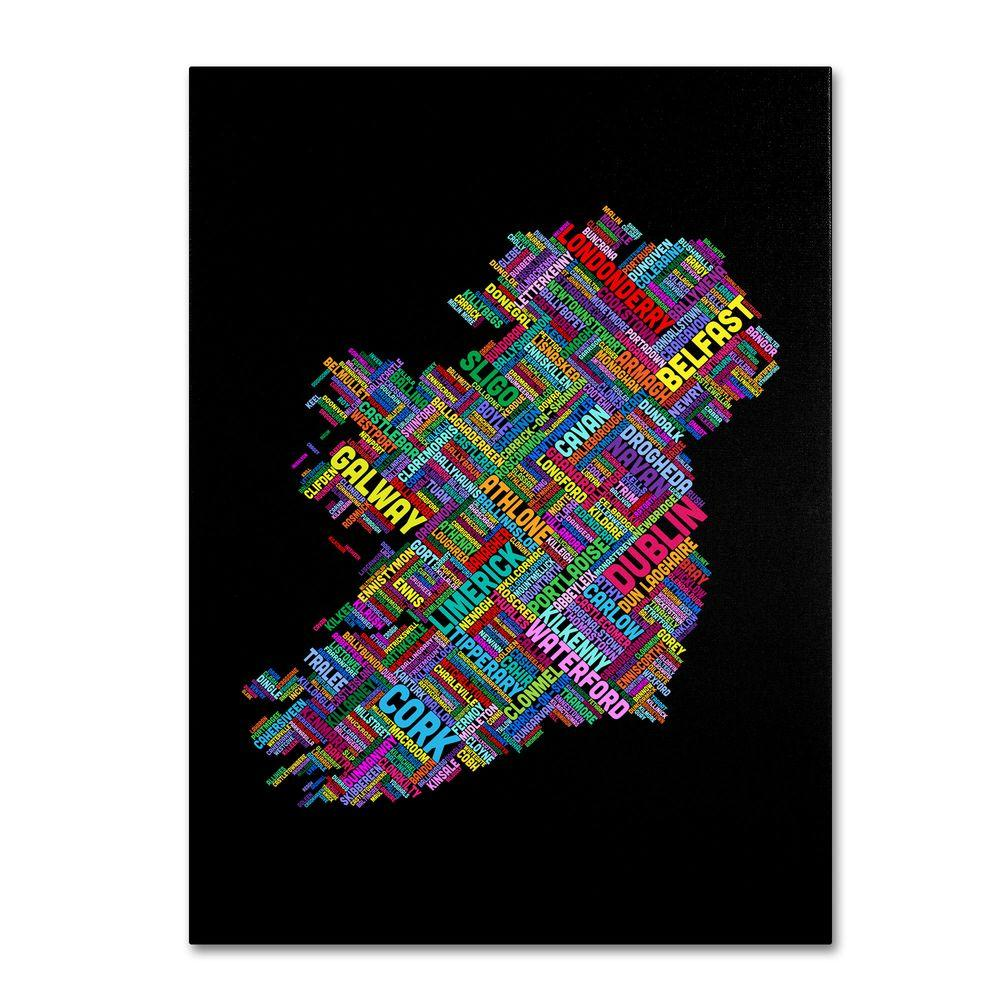 24 in. x 16 in. Ireland V Canvas Art