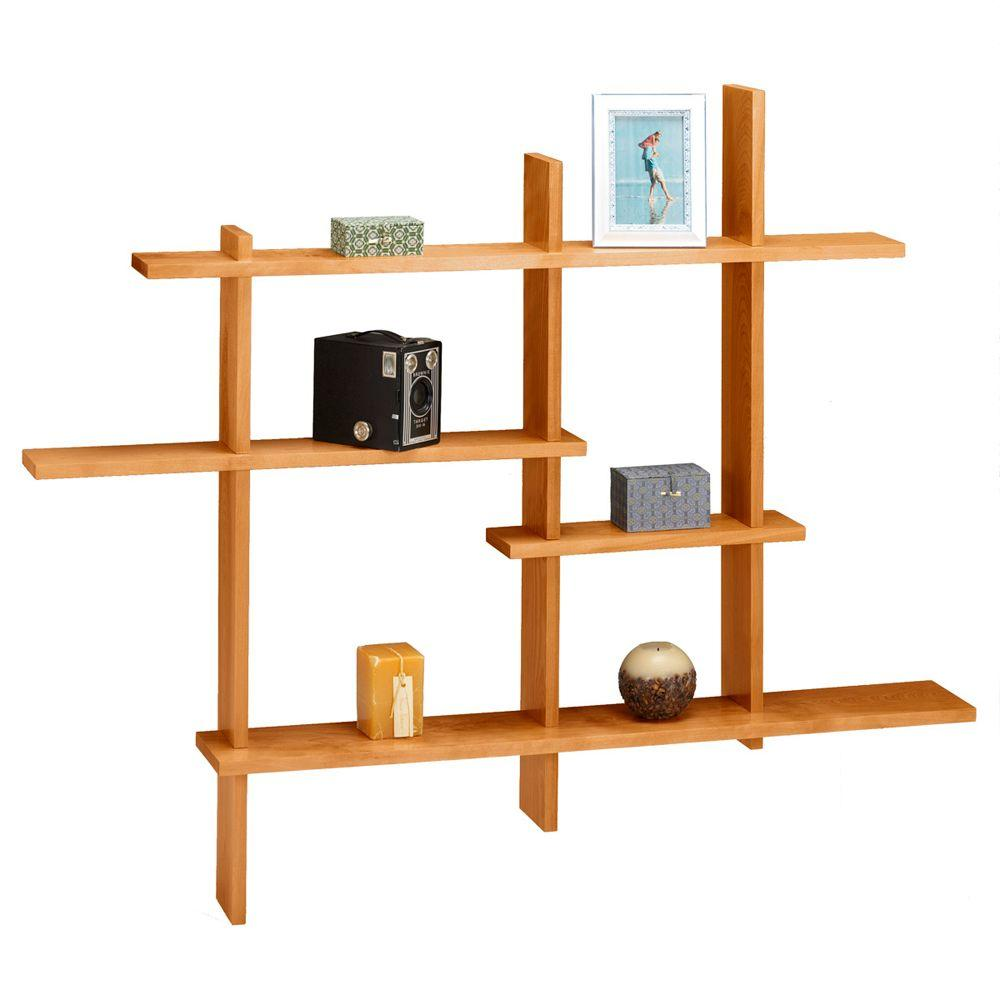 Home Decorators Collection 41 in. x 48.5 in. Deluxe Standard Display Shelf