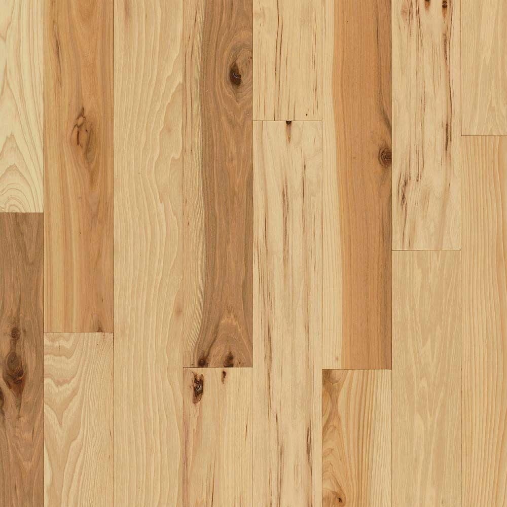 Rustic Hickory Natural 3/4 in. Thick x 3-1/4 in. Wide x