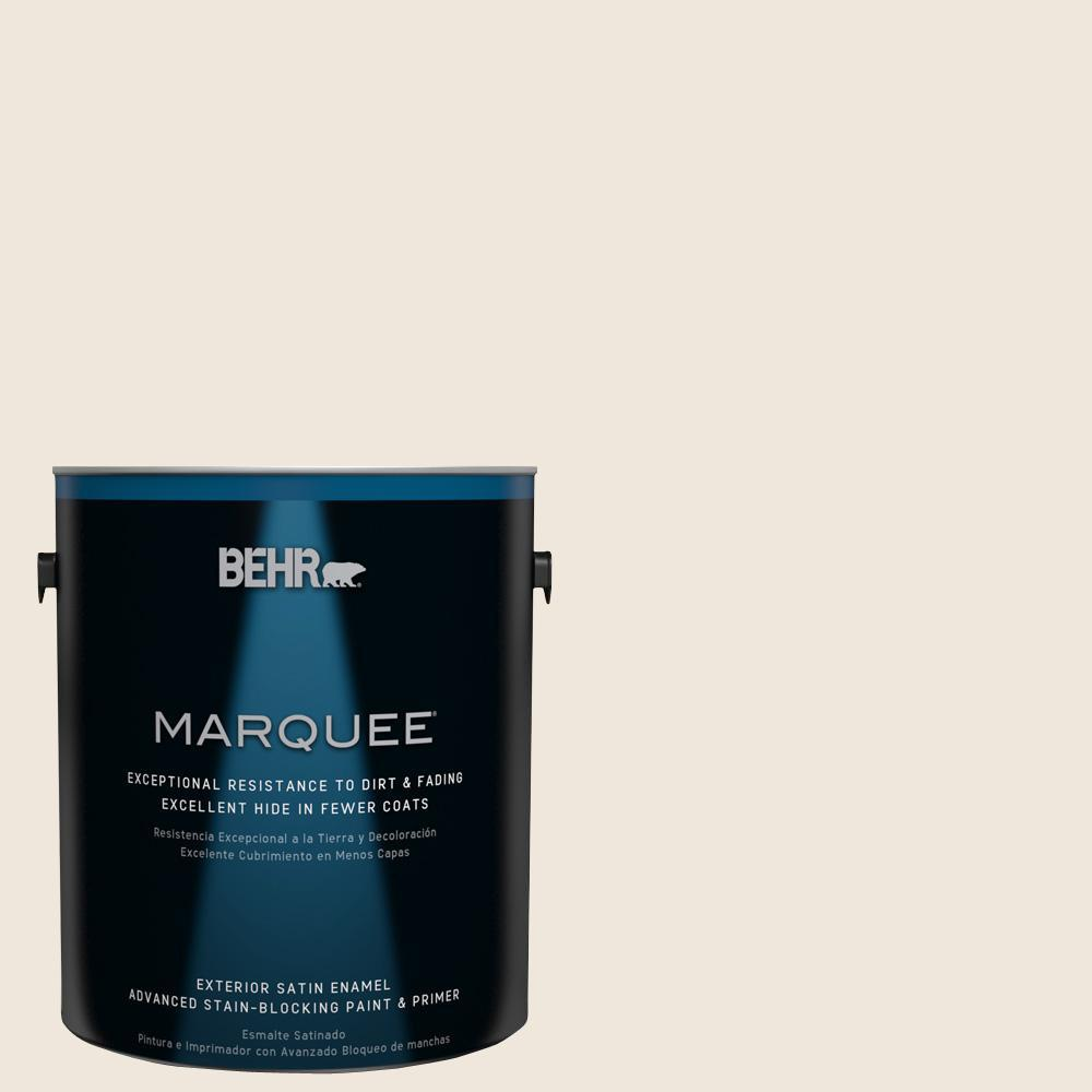 BEHR MARQUEE Home Decorators Collection 1 gal. #HDC-MD-11 Exclusive Ivory Satin
