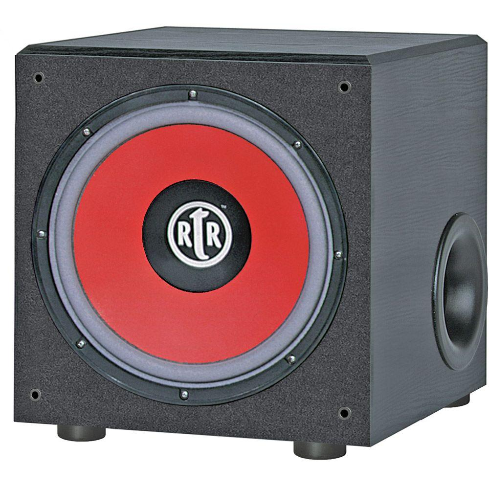 BIC America 12 in. 200-Watt Powered Front-Firing Subwoofer