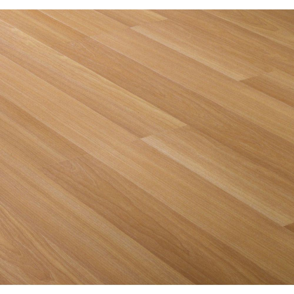null Beech Block Laminate Flooring - 5 in. x 7 in. Take Home Sample-DISCONTINUED